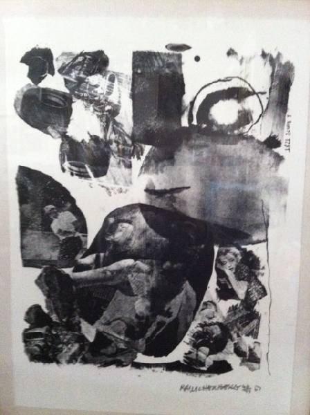 Robert Rauschenberg 'Test Stone #1' Printed by Gemini