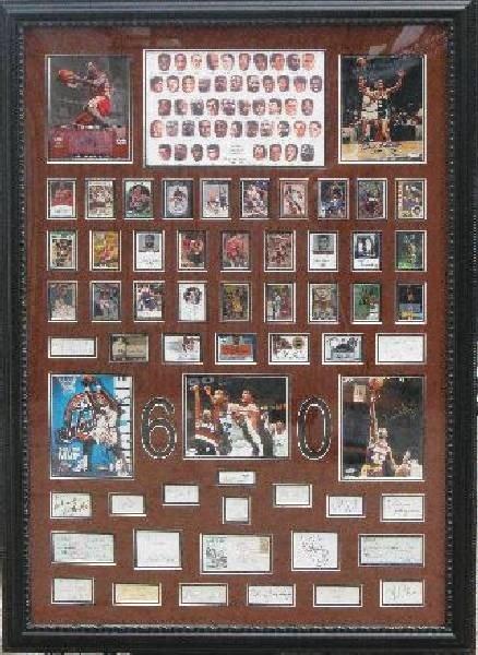 NBA 60 Greatest - Authentic Signatures