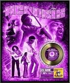 JIMI HENDRIX Purple HazeGold 45