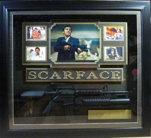 Scarface Wgun Al Pacino Authentic Signature