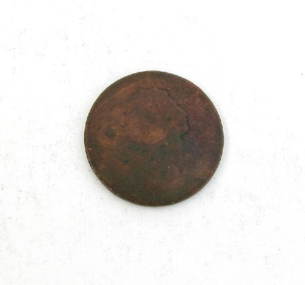 Busted Liberty One Cent Coin - Investment