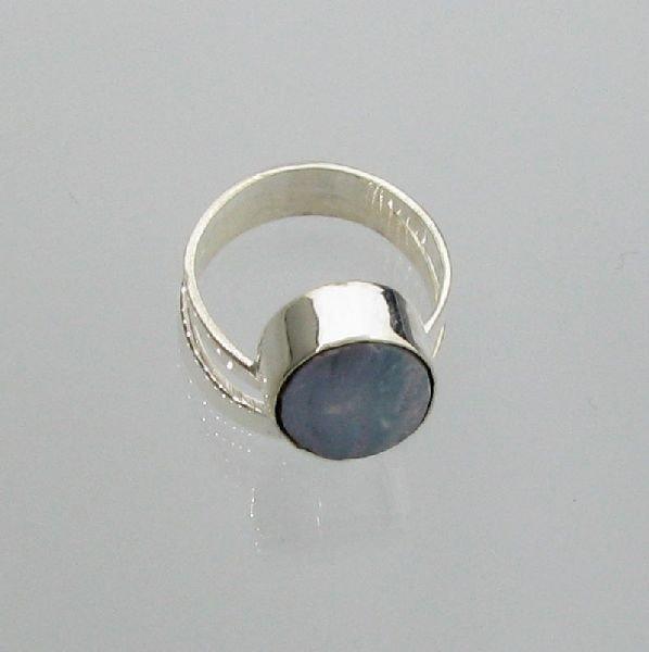APP: 5.7k 6.00CT Boulder Opal & Sterling Silver Ring