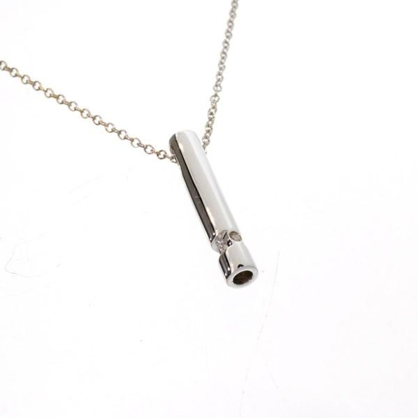 'The New Genesis'' Diamond & Sterling Silver Necklace