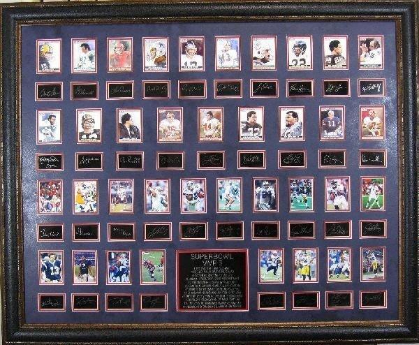 Superbowl MVPs - Plate Signatures!