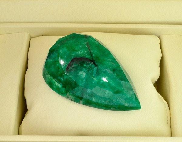 APP: 50.2k 502.00CT Pear Cut Emerald Gemstone - 2