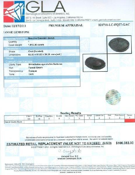 APP: 106.1k 1,010.30CT Emerald Gemstone - 3