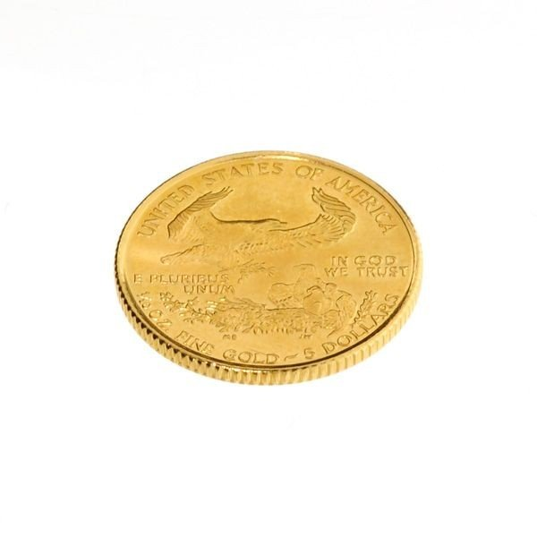 1998 $5 U.S. 1/10 oz. Gold American Eagle Coin - 2