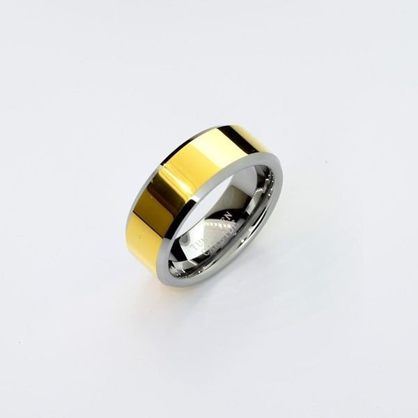 Rare Exquisite Tungsten Size 9 Ring