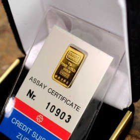 1 Gram Gold Credit Suisse Coin - Investment