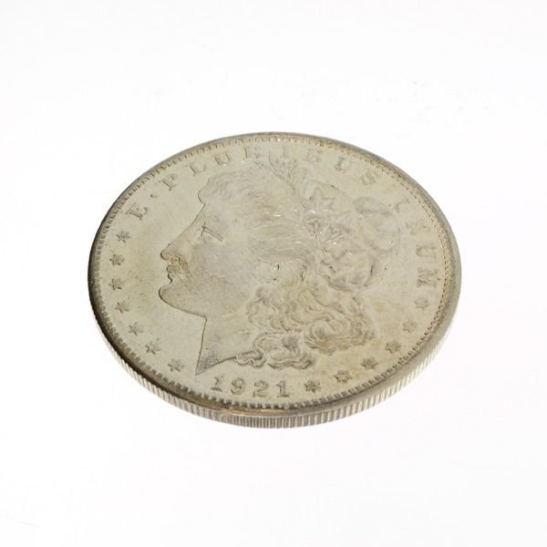 1921-S U.S. Morgan Silver Dollar Coin - Investment