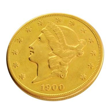 1900-S $20 U.S. Liberty Head Gold Coin - Investment
