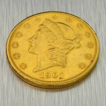 1901-S $20 U.S. Liberty Head Gold Coin - Investment