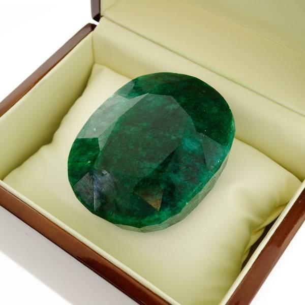 APP: 58.8k 876.95CT Emerald Gemstone