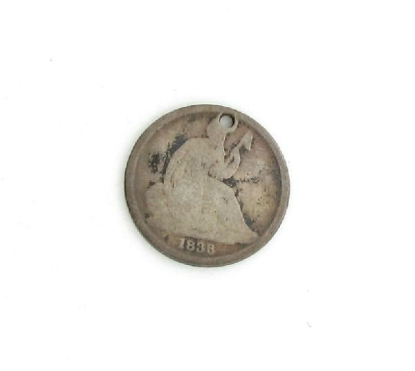 1838-O U.S. Seated Liberty Dime  Coin - Investment