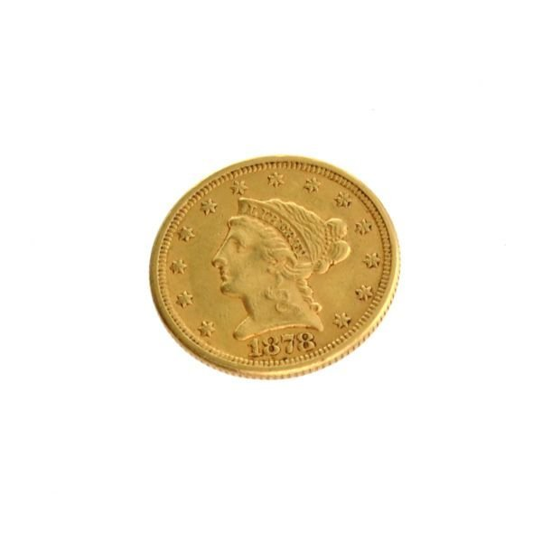 1878 $2.5 U.S. Liberty Head Gold Coin - Investment