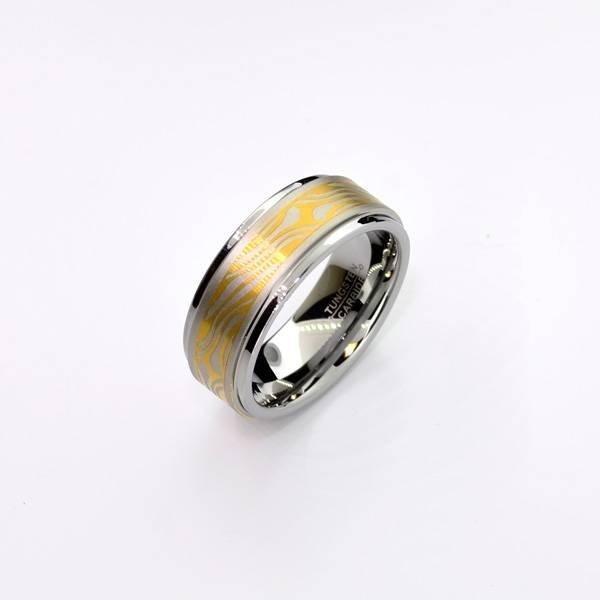 Rare Exquisite Tungsten Size 9 Ring