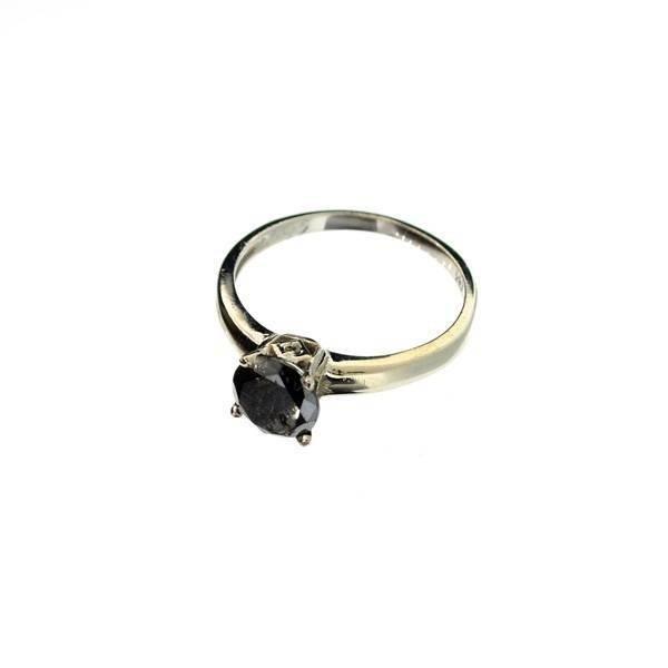 APP: 2k 14kt White Gold, 1k Diamond Ring