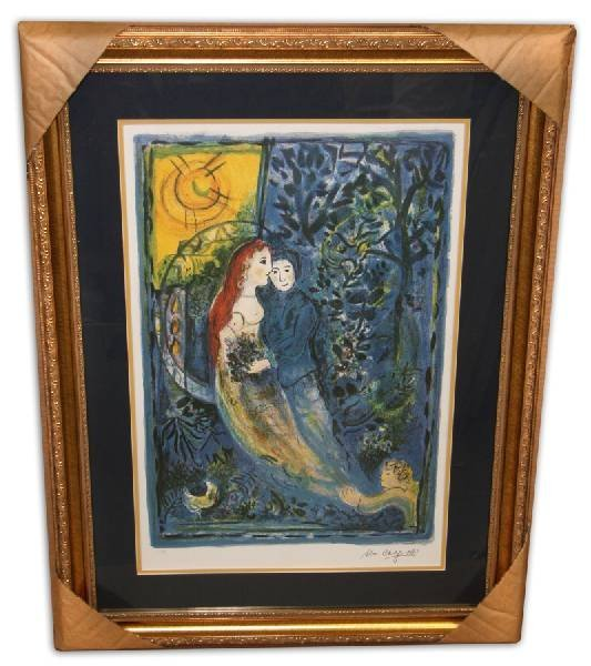 Marc Chagall 'The Wedding' Museum Framed & Matted Print