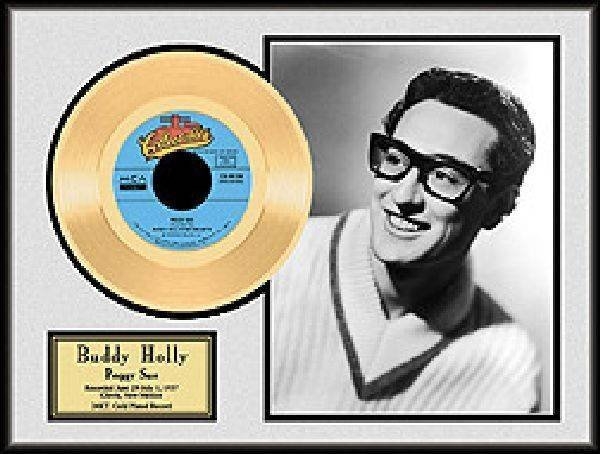 "BUDDY HOLLY ""Peggy Sue"" Gold Record"