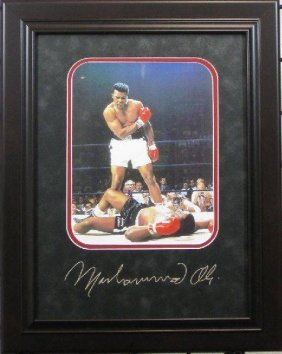 Muhammad Ali - Plate Signature