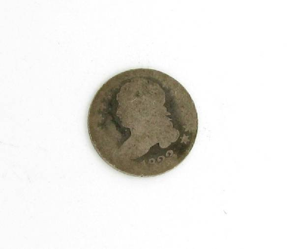 1823 U.S. Capped Bust One Dime  Coin - Investment