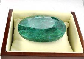 APP: 51.5k 953.90CT Oval Cut Emerald Gemstone