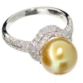 APP: 6k 18kt White Gold, 13CTDiamond Ring