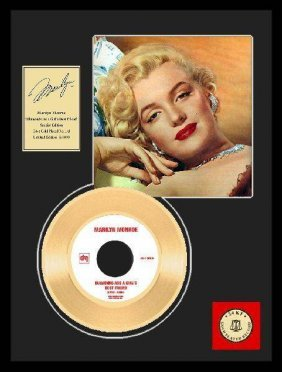 "MARILYN MONROE""Diamonds Are A Girls Best Friend""Gold LP"
