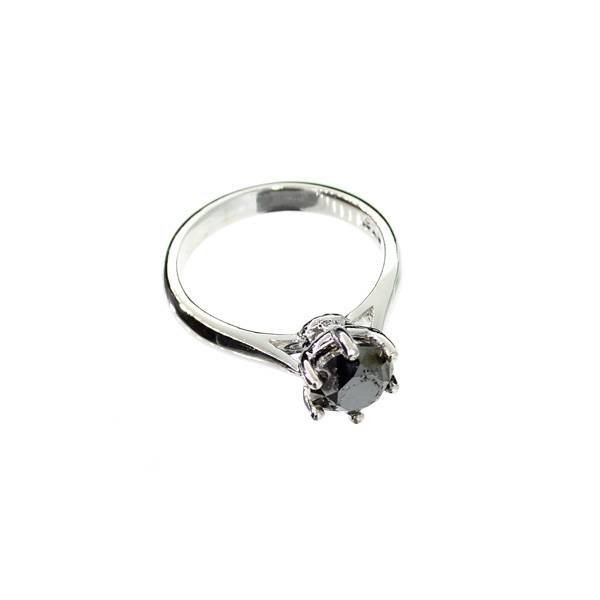 APP: 2k 1k Diamond & Sterling Silver Ring