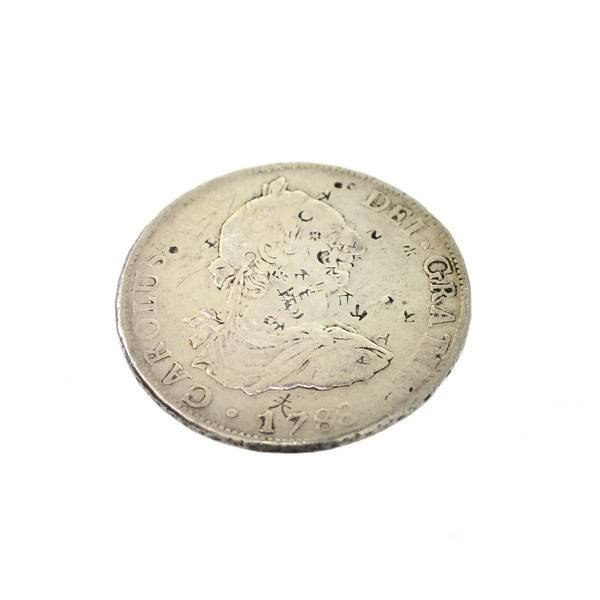 1788 Eight Reales First Silver Dollar Coin - Investment