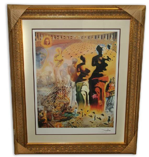 Salvador Dali 'The Hallucinogenic Toreador'  Framed
