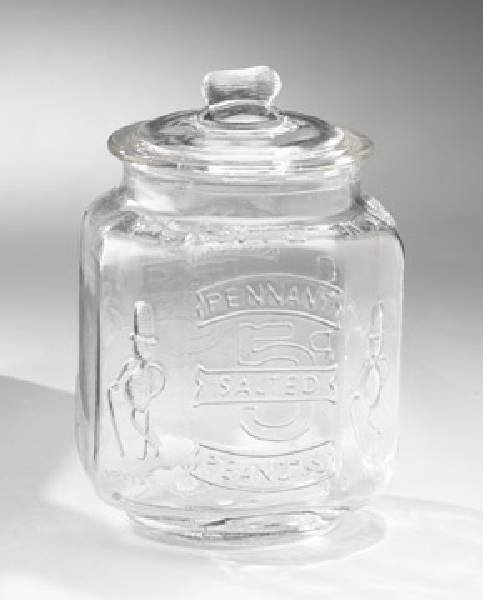 Peanut Jar - Large Clear