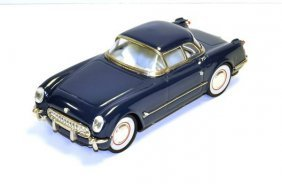 Blue Chevy Hardtop Car