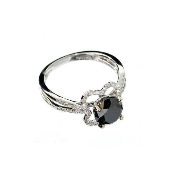 APP: 7k 18kt White Gold, 1k Diamond & 0CTDiamond Ring