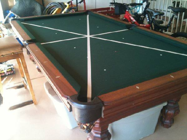 Custom Olhausen Pool/Billiard Table - PICK UP ONLY