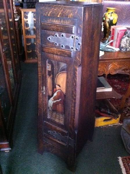 Shoppe of Crafters Wood Cabinet - PICK UP ONLY