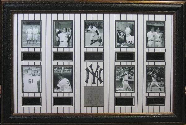Yankee Legends - Engraved Signatures