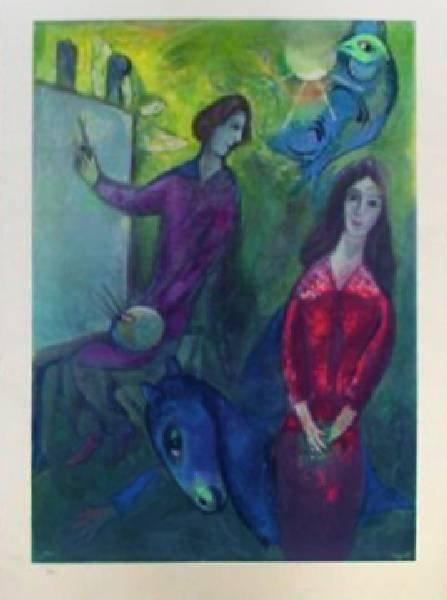 Marc Chagall - Artiste et Modele - Photoprint, Ltd Edn