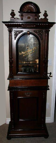 Early PolyPhone Music Box W/40 Disc's-Fully Restored