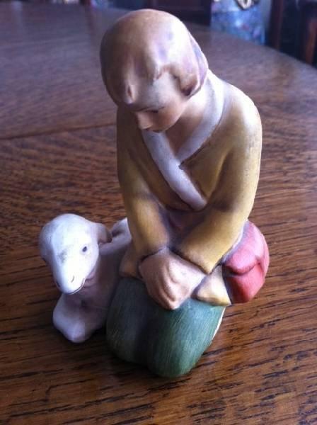 Hummel Collectible Figurine-Shepherd w/Lamb