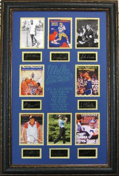 UCLA Legends - Plate Signatures