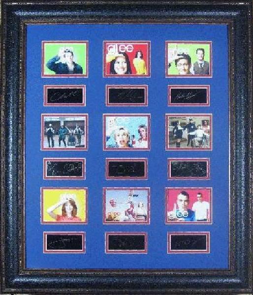 Glee Cast - Plate Signatures