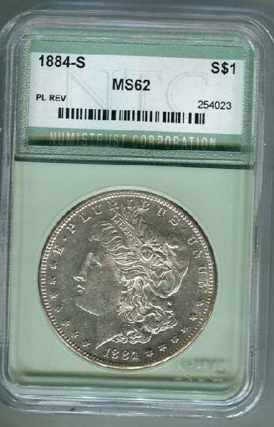 1884-S Morgan $1 Coin - Investment
