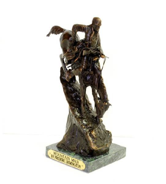 Mountain Man- By Frederic Remington- Bronze Reissue