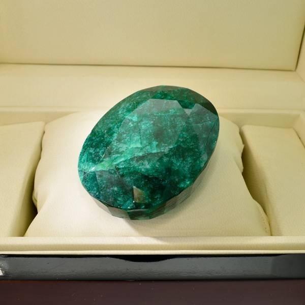 APP: 39.5k 732.30CT Oval Cut Emerald Gemstone