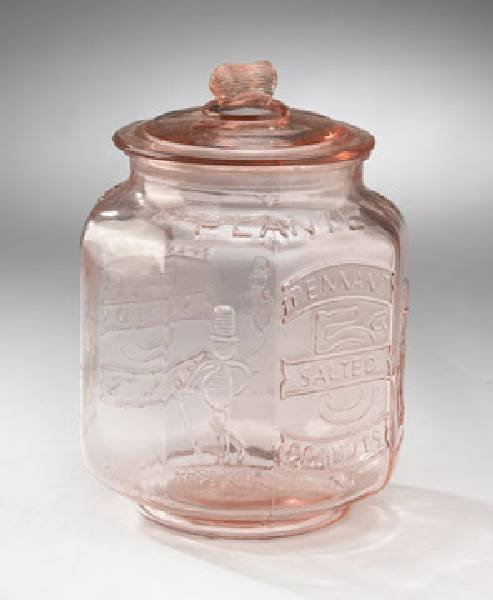 Peanut Jar - Large Pink