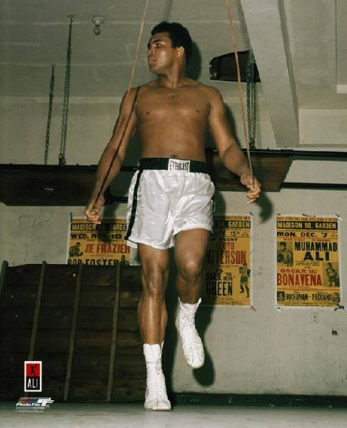 Muhammad Ali - Training Photo