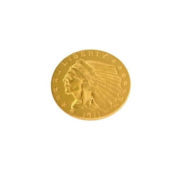 1911-D (Date) $2.5 U.S. Indian Head Gold Coin