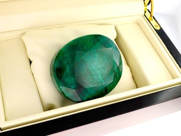 APP: 43.2k 1,236.00CT Emerald Gemstone