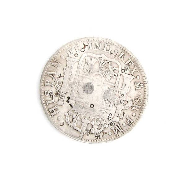 1794 Eight Reales First Silver Dollar Coin - Investment - 2